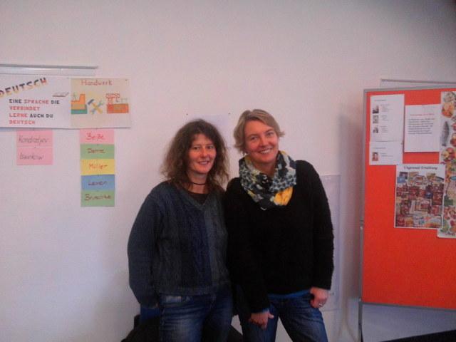 Frau Köchermann & Frau Siebert vom Sozialpsychologischem Dienst des Landkreises Northeim